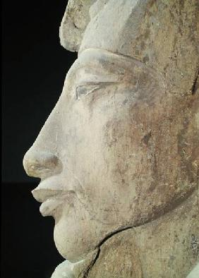 Bust of Amenophis IV (Akhenaten) (c.1364-1347 BC) from the Temple of Amun, Karnak