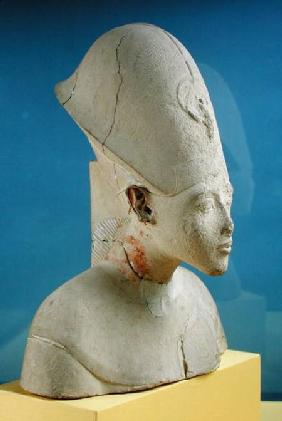 Bust of Amenophis IV (Akhenaten) from Tell el-Amarna, Amarna Period, New Kingdom