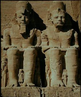 Colossal statues of Ramesses II, from the Temple of Ramesses II, New Kingdom