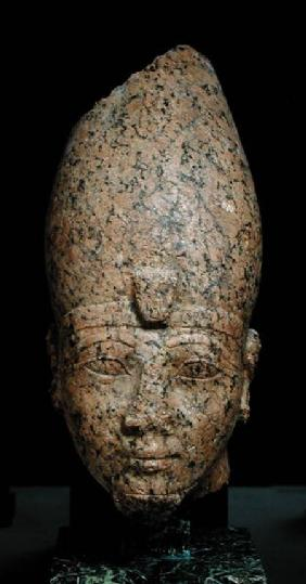 Head of Hatshepsut (c.1473-c.1458 BC) or Tuthmosis II (c.1491-c.1479) New Kingdom