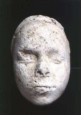 Male mask, possibly a sculptor's study, from Tell El-Amarna
