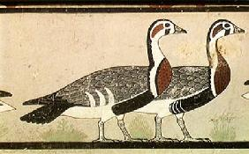 Meidum geese, from the Tomb of Nefermaat and Atet, Old Kingdom