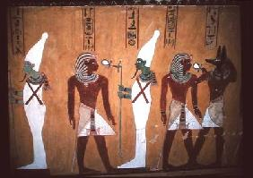 Mural in the tomb of Thutmosis IV (c.1400-1390 BC)