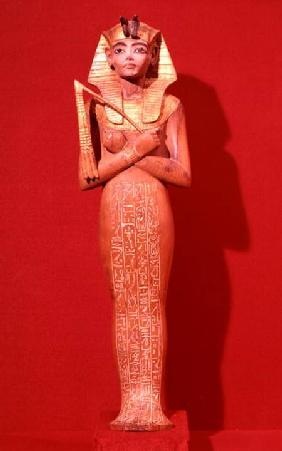 Shabti figure of the king from the Tomb of Tutankhamun (c.1370-1352 BC) New Kingdom