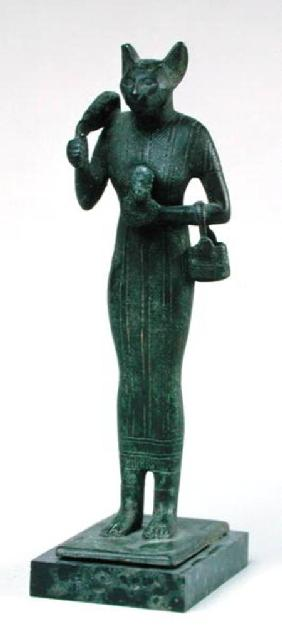 Statuette of the goddess Bastet, Third Intermediate Period