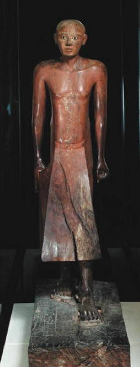 Statuette of Nakhti, chancellor during the reign of Sesostris I (c.1956-c.1911 BC) from Assiut, Midd