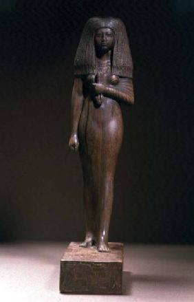 Statuette of the Tuya, head of the harem of Min, New Kingdom