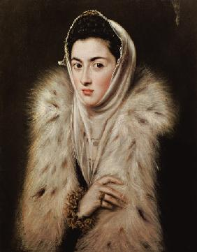 Lady with a Fur