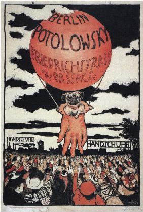 Poster for the Potolowsky Glove Manufacturer