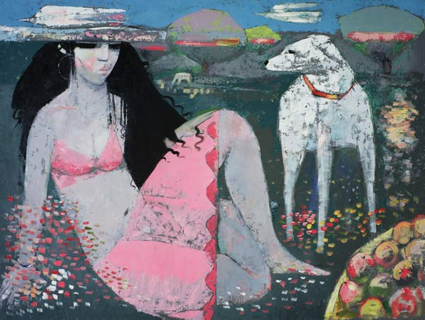 Endre roder artiste peintre anglais contemporain en for Artiste peintre anglais