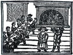 Christmas Entertainment, an illustration from ''A Book of Roxburghe Ballads''