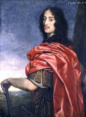 Portrait of Prince Rupert (1619-82)