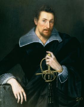Portrait of a Man with a Sword