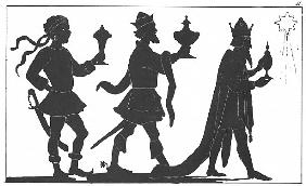 Silhouette of the Three Kings