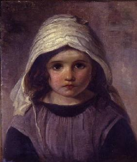 Study of a Girl in a Bonnet