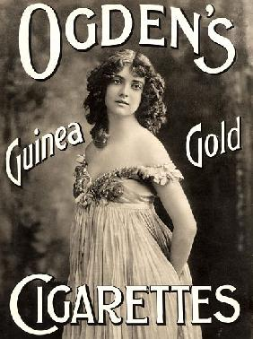 Advertisement for Ogden's Guinea Gold Cigarettes