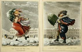 A Merry Christmas and a Happy New Year in London: And the Same to You, Sir, and Many of 'Em, engrave