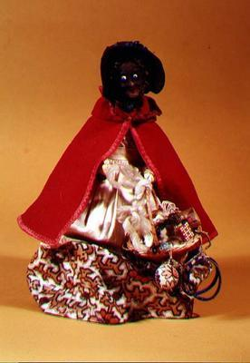 Pedlar doll, c.1860-70 (mixed media)
