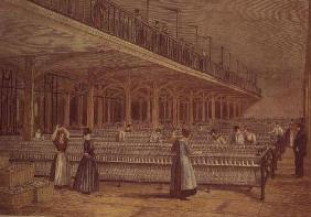 The Doubling Room, Dean Mills, 1851 (colour litho)