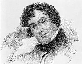Washington Irving (1783-1859) (engraving)
