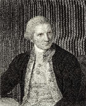 James Cook (1728-79) from 'The Gallery of Portraits', published 1833 (engraving)