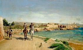 Antibes, the Horse Ride