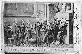 Seine deputies, members of the National Defence Government on 4th September 1870