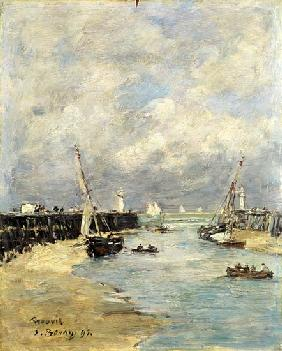 Low Tide at Trouville