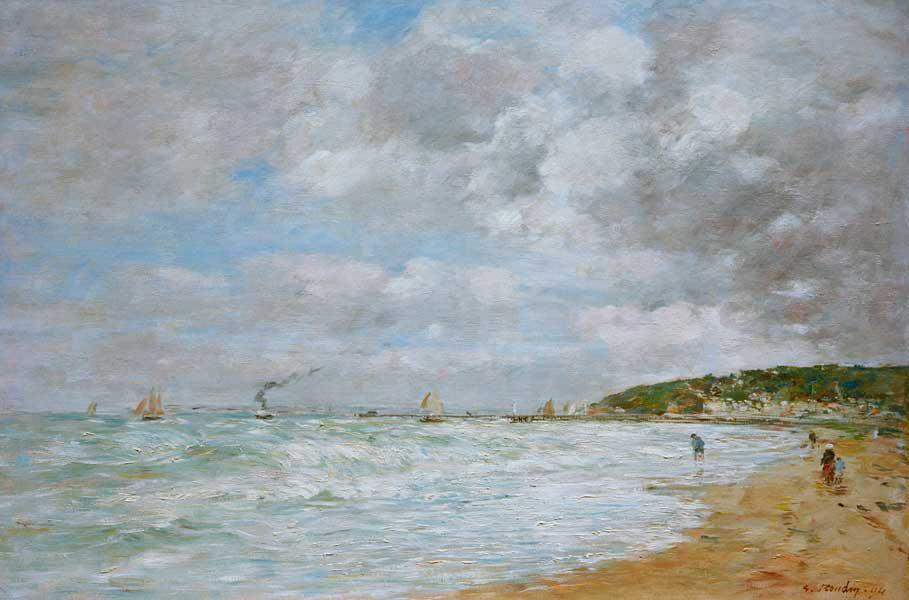 The shore at Trouville