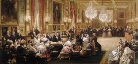Concert in the Galerie des Guise at Chateau d'Eu, 4th September 1843