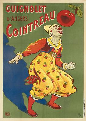 Advertising poster for Guignolet's Cointreau