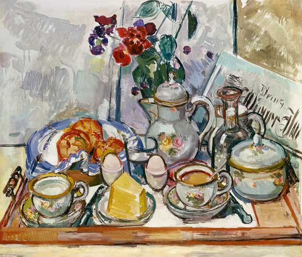 Table de petit d jeuner felix esterl for Table de petit dejeuner au lit