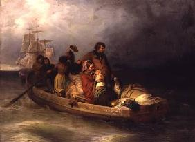 Emigrant passengers on board