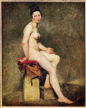 Mademoiselle Rose (Seated Nude)