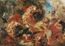 Study for The Lion Hunt