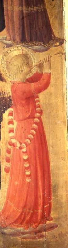 Angel Playing a Pipe, from the Linaiuoli Triptych