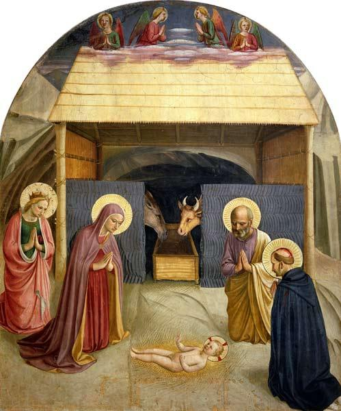 Nativity, with St. Catherine of Alexandria and St. Peter the Martyr