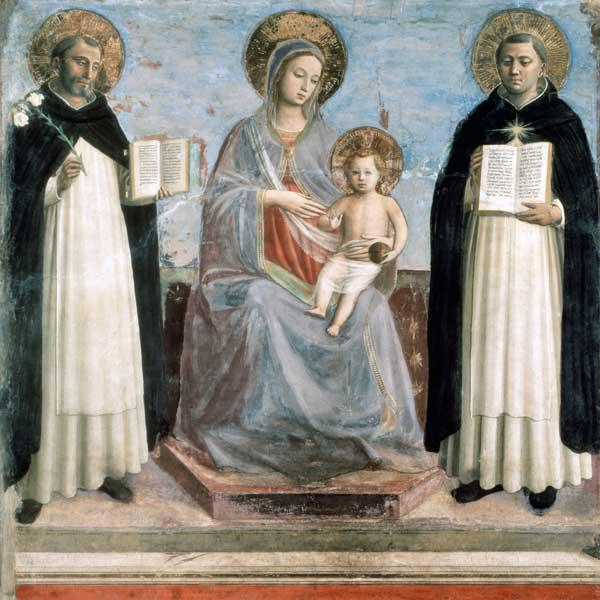 Virgin and Child with Saints Dominicus and Thomas Aquinas