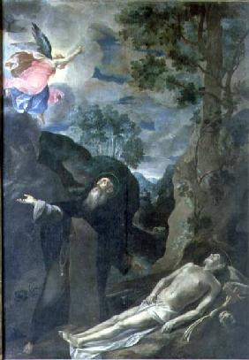 The Death of St. Anthony Abbot
