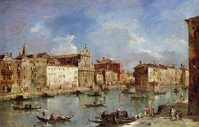 The Grand Canal (oil on canvas)