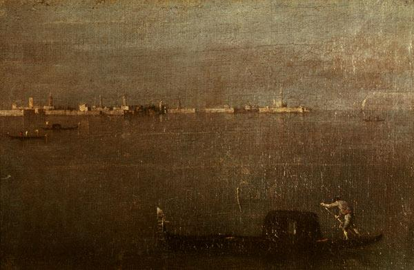 Venice / Lagoon / Painting  / Guardi