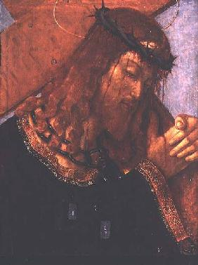 Christ carrying the Cross (panel)