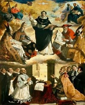 The Apotheosis of St. Thomas Aquinas