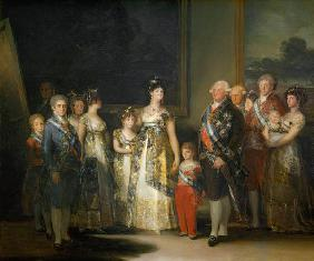 Charles IV (1748-1819) and his family