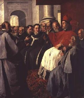 St. Bonaventure (1221-74) at the Council of Lyons in 1274