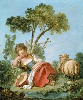 Boucher, Fran�ois : The Little Shepherdess