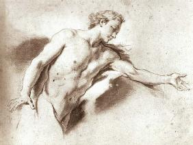 Boucher, Fran�ois : Nude study (pencil)