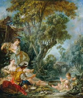 Boucher, Fran�ois : The Angler