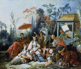 Boucher, Fran�ois : The Chinese Garden
