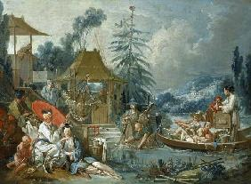 Boucher, Fran�ois : The Chinese Fishermen
